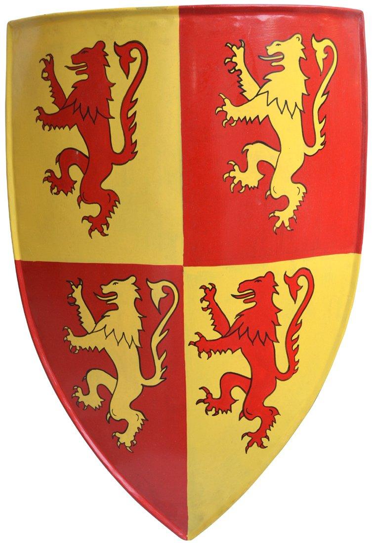 MedievalメタルシールドCrusader Shield Shield PaintedメタルABS PaintedメタルABS B077Q2LBSB B077Q2LBSB, オーダー収納スタイル:99e3a277 --- capela.dominiotemporario.com