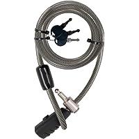 Stanley Family Kabelschloss extra lang (12 mm x 2400 mm, 3 Schlüssel) S741-163