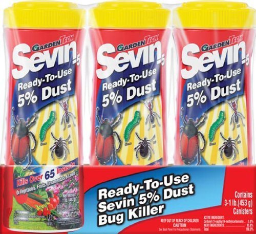 Garden Tech Dust Bug Killer Multiple Insects Carbaryl 3 / Pack