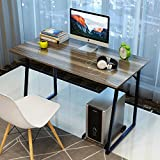 "Soges Computer Desk 47"" PC Desk Office Desk Workstation for Home Office Use Writing Table, Walnut TZ-WCA-N"