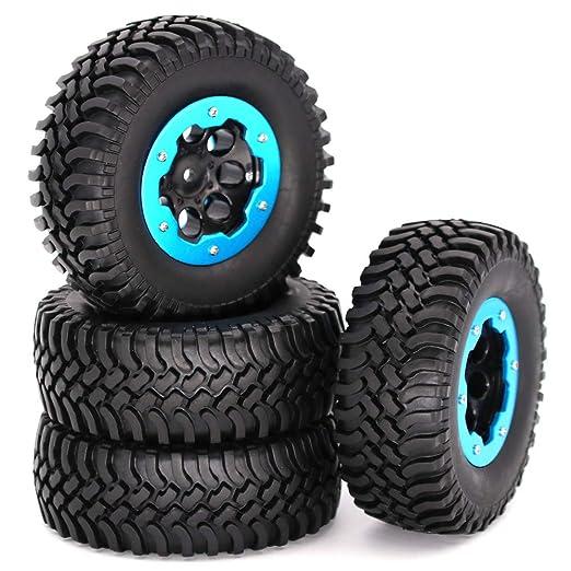 BEESCLOVER 1/10 - Neumático Hinchable de Coche de Escalada ...