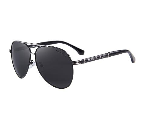 36a57c97d037 MERRY S Design Men Sunglasses HD Polarized Luxury Shades UV400 S8728  (Black