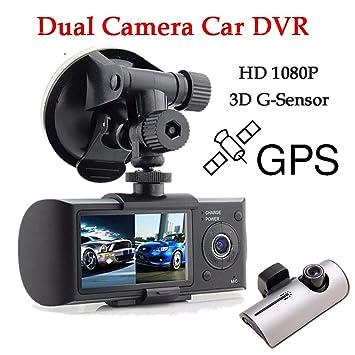 """BoomBoost 2.7 """"TFT LCD de doble cámara DVR del coche R300 X3000 grabadora de"""
