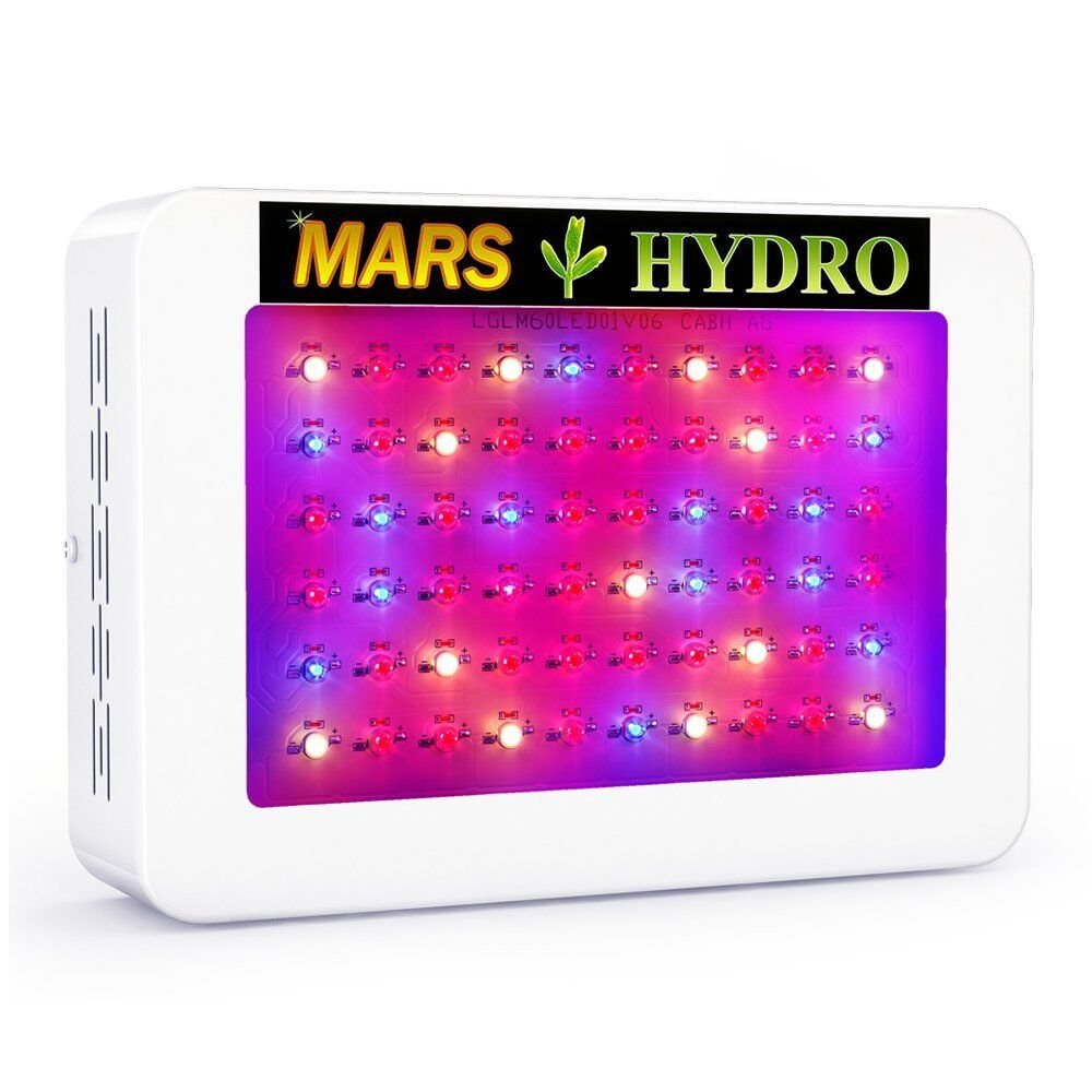 MarsHydro 300W LED Grow Light Full Spectrum for Hydroponic Indoor Plants Growing Veg and Flower by MARS HYDRO (Image #1)