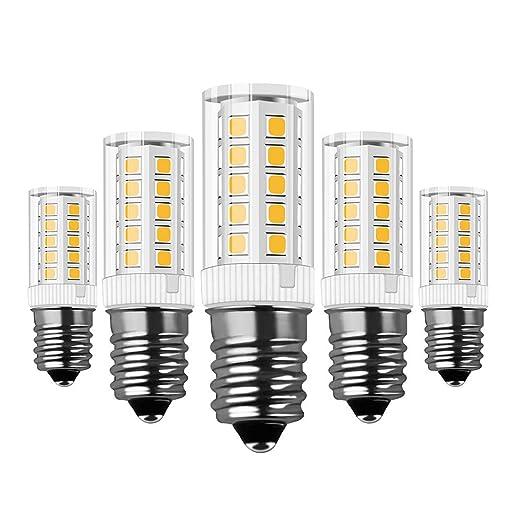 Bombillas E14 LED, RANBOO, 5W Equivalente a Bombillas Halógena de ...