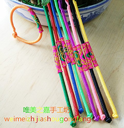 Phoenix city Yunnan national wind cloth style 1 female hand rope hand-woven rope hand rope bracelet foot