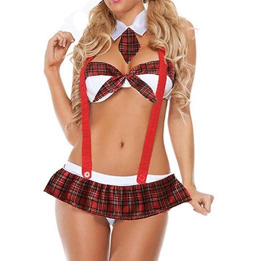 Jenny.Ben Mujer Sexy Cosplay Traje Uniforme erótico Disfraz ...