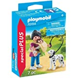 Playmobil Playmobil Mother with Baby and Dog Playset Mother with Baby and Dog