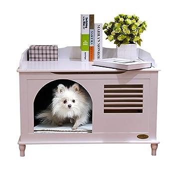 Casetas para perros Casa De Mascotas Casa De Gatos Casa De Perro Casa Casa De Mascotas Viento Y Lluvia Perrera Al Aire Libre Nido De Mascotas Cerrado Cuatro ...