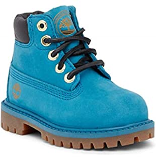 Timberland Kids 6-inch Premium Waterproof Boots for Toddlers, Wheat Quartz Exotic,