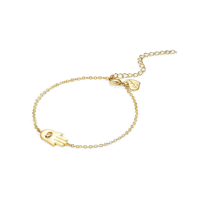 Citled Women Bracelet, Hammered 14K Gold Fill Dainty Round Bar Heart Charm Gold Bracelet BR-CFBK03