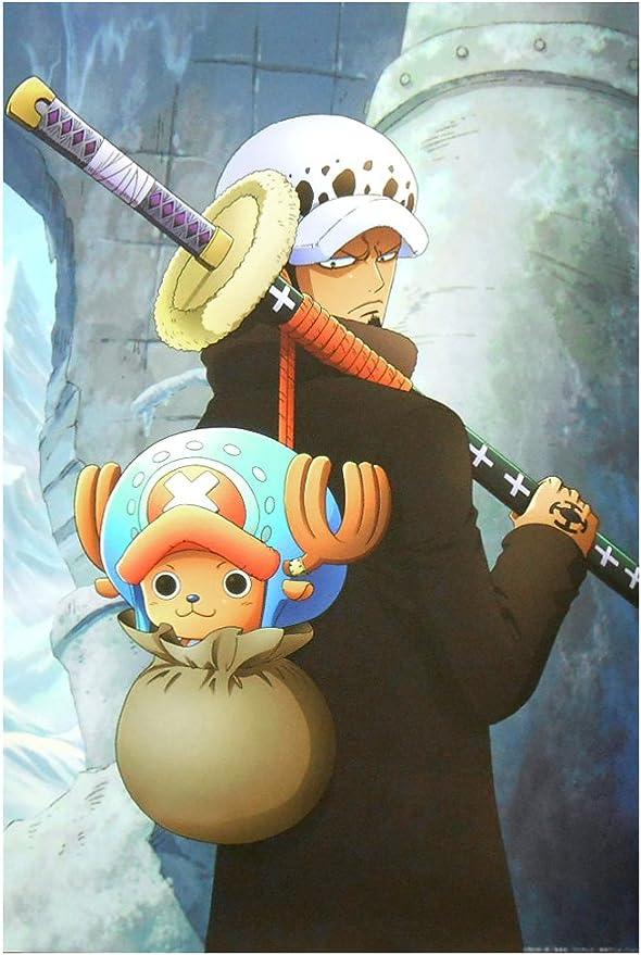 Amazon Co Jp One Piece ワンピース 壁紙 67 5cm 45cm ロー チョッパー ホビー