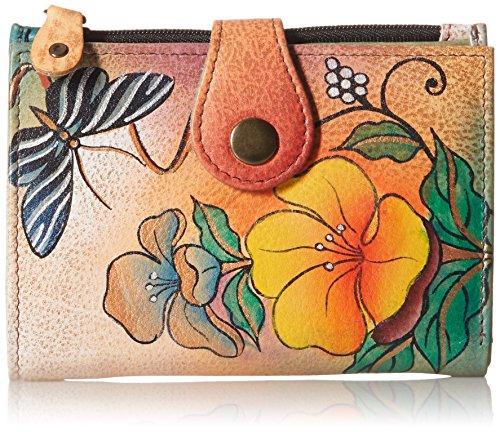 Anna by Anuschka Wallet | Genuine Leather | Wild Flower