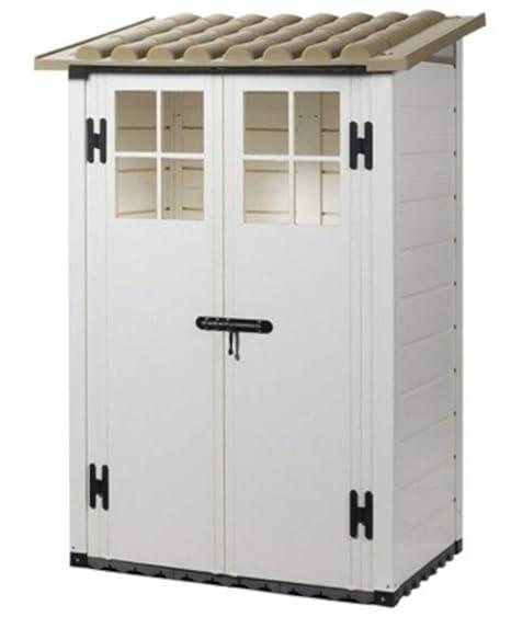 MP pm191 Box para caseta casita Contenedor de Herramientas Tuscany EVO 100/2 Resina 122