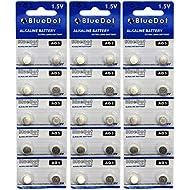 BlueDot Trading AG5 Batteries, 30 Count