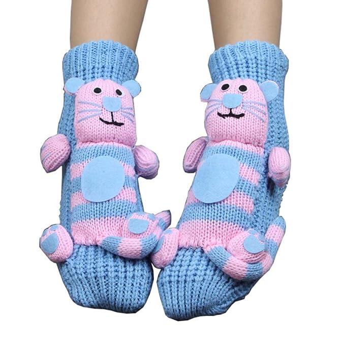Calcetines de punto calcetines de Navidad calcetines antideslizantes deslizador calcetines de piso calcetines de vacaciones para