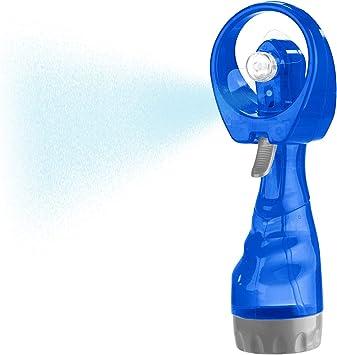 Ventilador de mano Pearl:ventilador de mano con pulverizador de ...