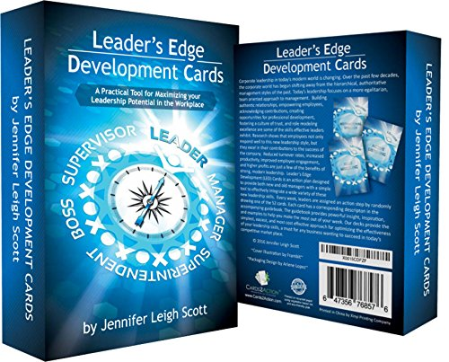 Leadership Development Cards -A Leadership Program for Corporate Management Based On Top Selling Leadership Books - It's The Manager, Atomic Habits, Leaders Eat Last, Dare to Lead, Principles, Leader (Best Leadership Development Programs)