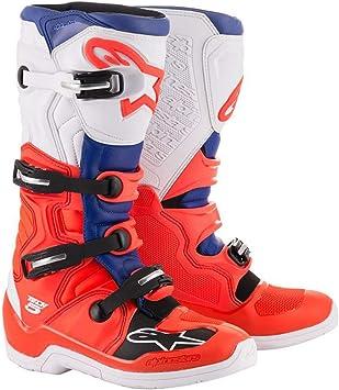 Alpinestars Tech-5 Boots WHITE//RED//BLUE 11
