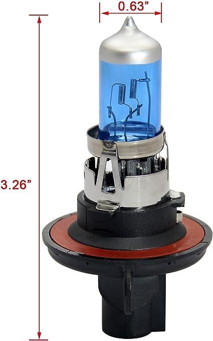 Winpower H13 9008 P26 4t Halogen Scheinwerferlampen 100w 90w 5000k Warmweiß Fernlicht Abblendlicht Lampe 12v Auto Birne 2 Stücke Auto