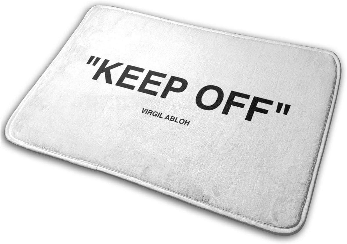 Kay Sam Off White Alfombra IKEA Keep Off Felpudo de Bienvenida Negro Alfombra de Entrada para Interiores y Exteriores Alfombrillas para Piso Raspador de Zapatos 15.7 X 23.5in (40 * 60cm)
