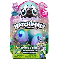 Hatchimals Colleggtibles Exclusive Spring 2-Pack Sparkly Hatchimals