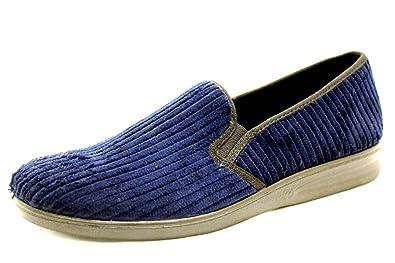 prix de détail meilleur endroit la qualité d'abord Romika 73322-65500, Chaussons pour homme - Bleu - bleu ...
