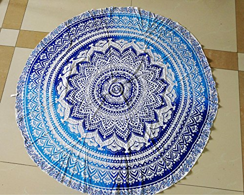 Round Roundie Indian Tapestry Hippie product image
