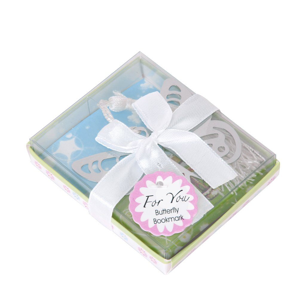 Wedding Favors Lovely Butterfly Bookmark Party Favors Stainless ...
