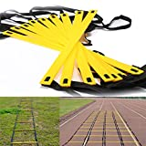 Bazaar Durable 9-rung Agility Ladder for Football Soccer Speed Feet Training