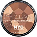 New York Color Wheel Mosaic Face Powder, All Over Bronze Glow, 0.32 Ounce