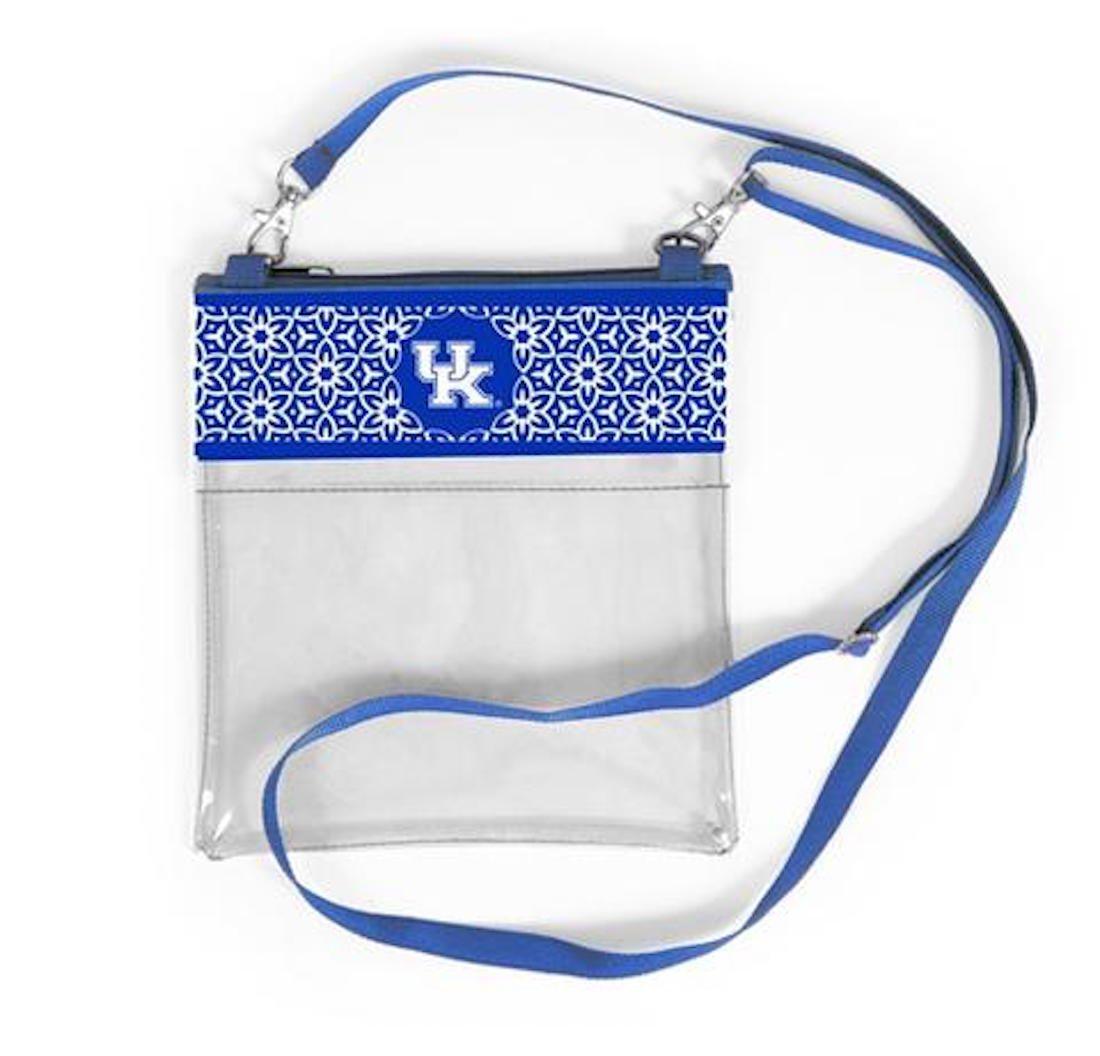 Desden Kentucky Wildcats Clear Gameday Crossbody Bag