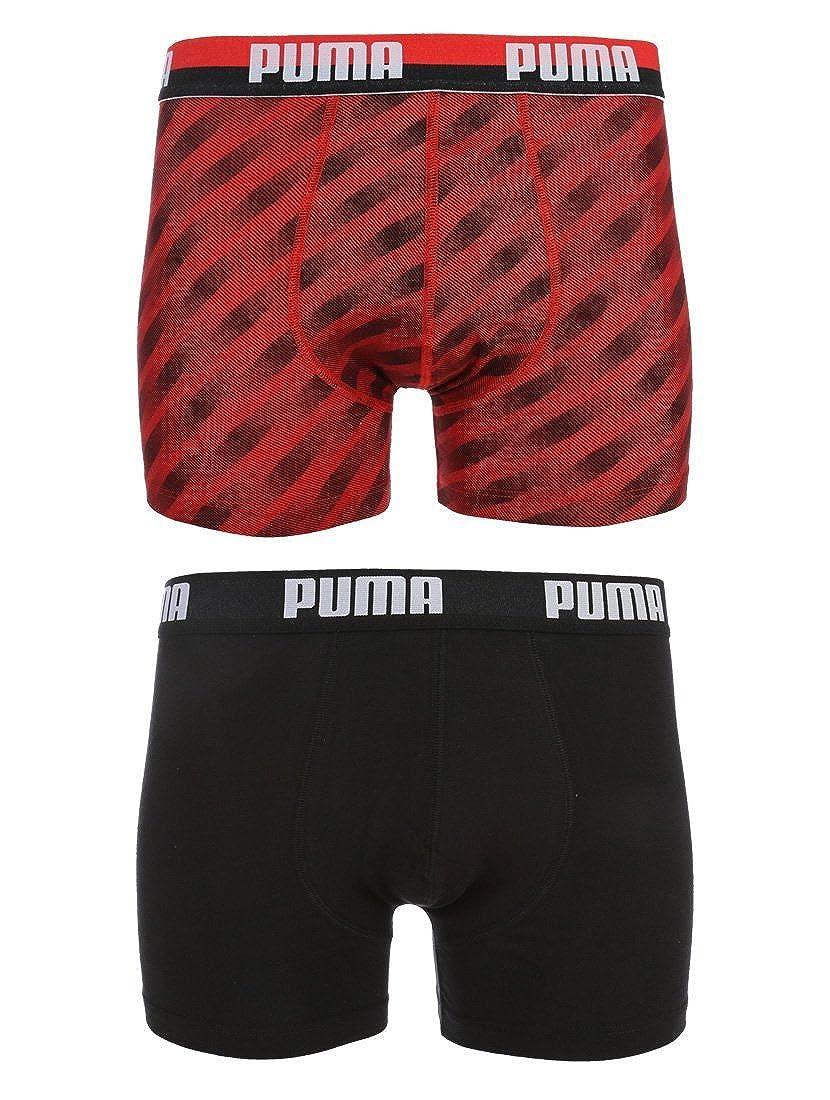 Puma Mens Soundwave Boxer (Pack of 2) Dobotex