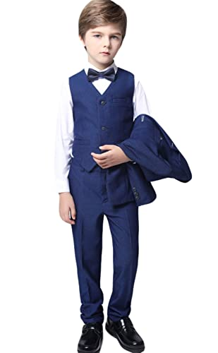 Amazon.com: Insun Boys Slim Fit Dress Suit Set Formal ...