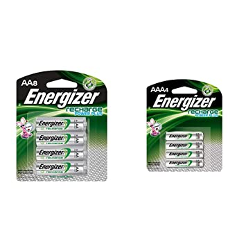 Amazon.com: Energizer - Pilas AA recargables, NiMH, 2300 mAh ...