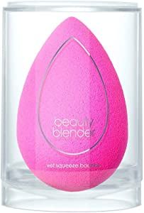BEAUTYBLENDER ORIGINAL PINK Makeup Sponge for Foundations, Powders & Creams. Vegan, Cruelty Free and Made in the USA