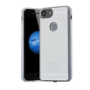 TEFIRE Cargador inalámbrico Qi Cargador Receptor para iPhone ...