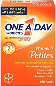 One-A-Day Womens Petites Complete Multivitamin, 160-Count