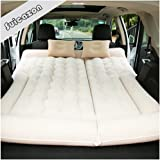 Multifunctional Car Air Mattress Camping Bed, Inflated by Cigarette Lighter with Air Pump