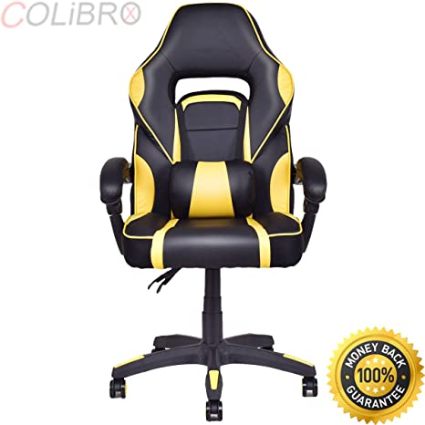 Phenomenal Amazon Com Colibrox Executive Racing Style Pu Leather Evergreenethics Interior Chair Design Evergreenethicsorg
