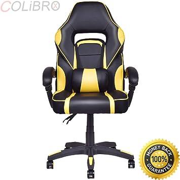 amazon colibrox executive racingスタイルpuレザーgaming椅子