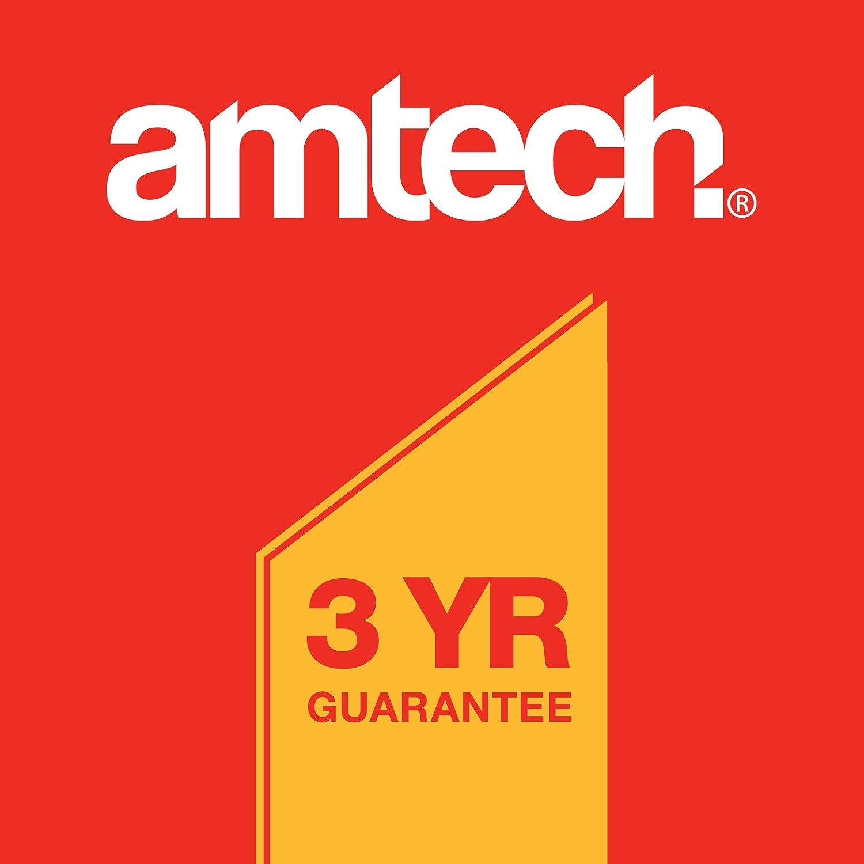 Amtech S2955 Plastic Clamp 3-Piece 6-Inch