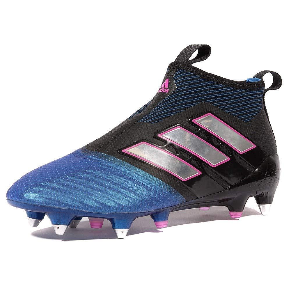 Adidas Ace 17+ Purecontrol Sg - cschwarz ftwwht Blau