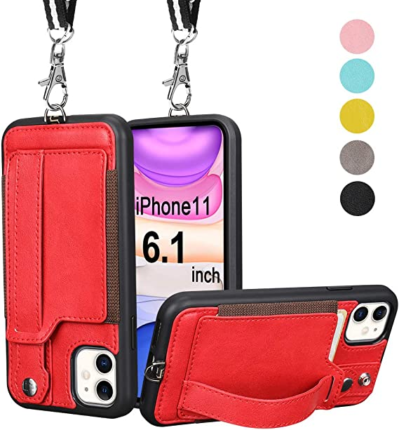 Focus On The Good Stuff {Pink & Red Version} iPhone 11 case