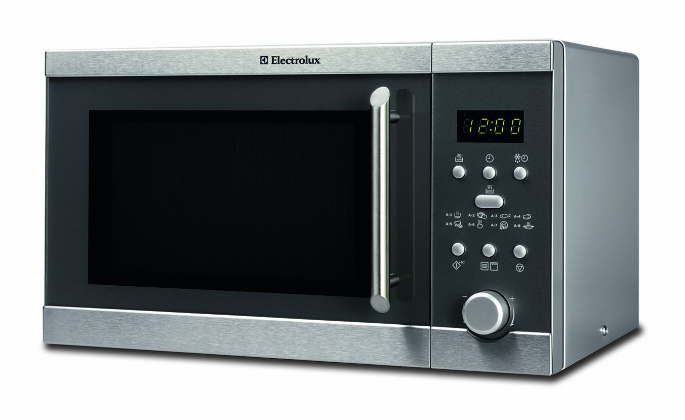 Electrolux - Microondas Ems20405X, 20L, 800W, Grill, Inox ...