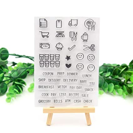 Amazon.com: Crafts and Dies Crafting Stamps Seal Crafts Paper ...