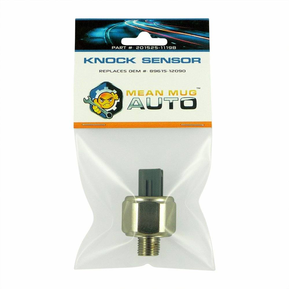 Mean Mug Auto 201525-1119B Knock Sensor - For: Toyota, Lexus - Replaces OEM #: 89615-12090, 89615-12050, 89615-32010
