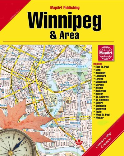 Winnipeg Street Guide and Manitoba Road Atlas