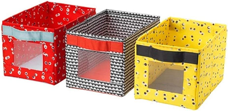 Ikea 704.179.53 Angelagen Box - Caja (3 Unidades, 7 x 10 x 6 x 3 Unidades): Amazon.es: Hogar