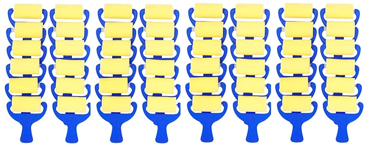Jack Richeson 699063-12 Plain Foam Brayer (12 Pack), 3'' (Fоur Paсk) by Jack Richeson